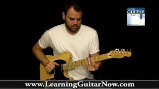 How to tune to Open G Tuning