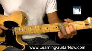 Open G Tuning Slide Guitar Lesson