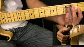 Open G Tuning Slide Lick Lesson in the Key of G