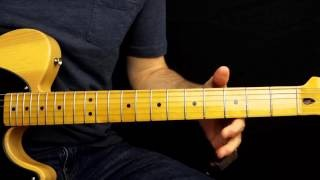 Open G Tuning Blues Slide Solo ( Squier Classic Vibe )