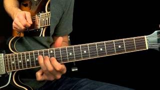 Blues Guitar Method 2: Playing to the Chord