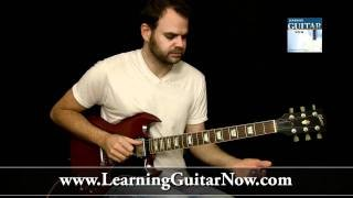 Open E Tuning Rockin' Blues Lick