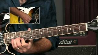 Blues Guitar Licks Lesson - Box 4