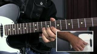 Country Blues Guitar Lesson - 8 Bar Country Blues Pentatonic Lick