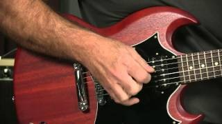 Billy Gibbons Style Blues Lick: 4 Against 3