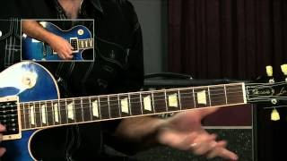 Blues Guitar Lick: You Shook Me Joe Bonamassa Style