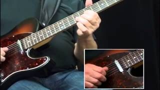 Jimi Hendrix Red House Style Guitar Lesson With Steve Trovato