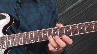 Thrill Is Gone Style Blues Guitar Lesson - 4 Note Solo