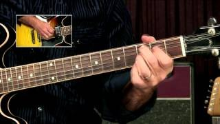 How to start a blues solo with a classic blues lick