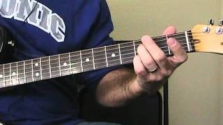 Merry Christmas Baby - Elvis Style Blues Guitar Lesson