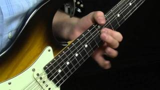 SRV Testify Opening Lick Lesson