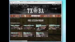 How To Find Lessons And Gear Videos on Texas Blues Alley