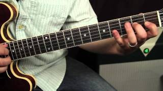 Mastering The Major Scale - Guitar Lesson - Beatles style scale pattern - Ionian Mode